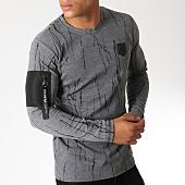 /achat-t-shirts-manches-longues/mtx-tee-shirt-manches-longues-oversize-poche-bomber-33610-gris-noir-152162.html