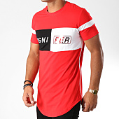 /achat-t-shirts-longs-oversize/mtx-tee-shirt-oversize-t3520-rouge-noir-blanc-152221.html
