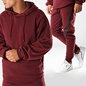 /achat-ensembles-survetement/aarhon-ensemble-de-survetement-aj142-bordeaux-152414.html