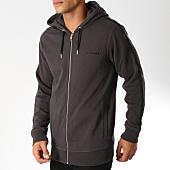 /achat-sweats-zippes-capuche/diesel-sweat-zippe-capuche-avec-bandes-brandon-00se8m-0hase-gris-anthracite-noir-152493.html