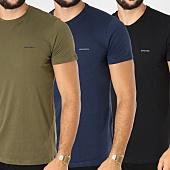 /achat-t-shirts/diesel-lot-de-3-tee-shirts-jake-00spdg-0aalw-noir-vert-kaki-bleu-marine-152509.html