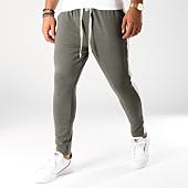 /achat-pantalons-carreaux/uniplay-pantalon-avec-bandes-t3261-vert-kaki-ecru-152476.html