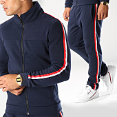 /achat-ensembles-survetement/aarhon-ensemble-de-survetement-bandes-brodees-aj183-bleu-marine-blanc-rouge-152689.html