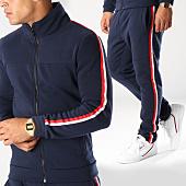 /achat-ensembles-survetement/aarhon-ensemble-de-survetement-bandes-brodees-aj183-bleu-marine-blanc-rouge-152689.html