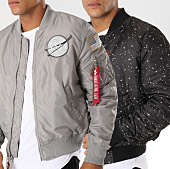/achat-bombers/alpha-industries-bomber-reversible-patchs-brodes-nasa-gris-noir-152569.html