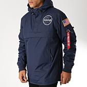 /achat-vestes/alpha-industries-veste-outdoor-avec-poche-bomber-nasa-bleu-marine-152571.html