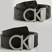 /achat-ceintures/calvin-klein-ceinture-reversible-monogram-4314-noir-gris-152738.html