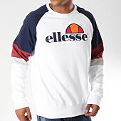 /achat-sweats-col-rond-crewneck/ellesse-sweat-crewneck-1032n-tricolore-blanc-bleu-marine-bordeaux-152719.html