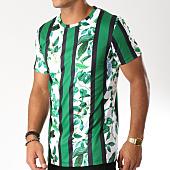 /achat-t-shirts-longs-oversize/frilivin-tee-shirt-oversize-3871-vert-blanc-floral-152702.html