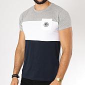 /achat-t-shirts-poche/la-maison-blaggio-tee-shirt-poche-mefila-gris-clair-bleu-marine-blanc-152611.html
