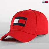 /achat-casquettes-de-baseball/tommy-hilfiger-jeans-casquette-flag-3995-rouge-152752.html
