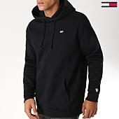 /achat-sweats-capuche/tommy-hilfiger-jeans-sweat-capuche-classics-4468-noir-152778.html