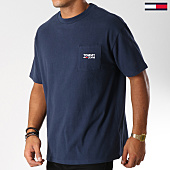 /achat-t-shirts-poche/tommy-hilfiger-jeans-tee-shirt-poche-logo-5084-bleu-marine-152787.html