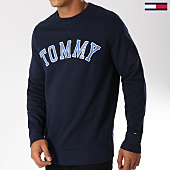 /achat-sweats-col-rond-crewneck/tommy-hilfiger-jeans-sweat-crewneck-essential-graphic-5160-bleu-marine-152814.html