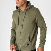 /achat-sweats-zippes-capuche/paname-brothers-sweat-zippe-capuche-samy-vert-kaki-153163.html