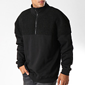 /achat-sweats-col-zippe/urban-classics-sweat-fourrure-tb2403-noir-153063.html