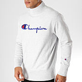 /achat-sweats-col-rond-crewneck/champion-sweat-212990-gris-chine-153399.html