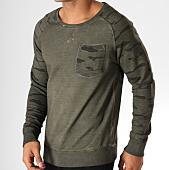/achat-sweats-col-rond-crewneck/sky-rebel-sweat-crewneck-h1166l20986a-vert-kaki-camouflage-153310.html