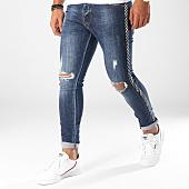 /achat-jeans/aarhon-jean-slim-avec-bandes-a93-bleu-denim-153486.html
