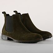 /achat-chelsea-boots/classic-series-chelsea-boots-dr82-vert-kaki-153471.html