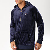 /achat-sweats-capuche/fila-sweat-capuche-velours-laurent-684404-bleu-marine-153550.html