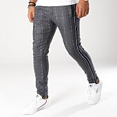 /achat-pantalons-carreaux/ikao-pantalon-a-carreaux-avec-bandes-p18033-gris-anthracite-noir-bleu-153660.html