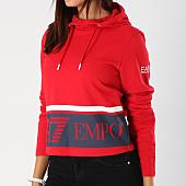 /achat-t-shirts-manches-longues/ea7-tee-shirt-manches-longues-capuche-femme-6ztm09-tj39z-rouge-bleu-marine-153825.html