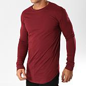 /achat-t-shirts-longs-oversize/frilivin-tee-shirt-manches-longues-oversize-2091-bordeaux-153853.html