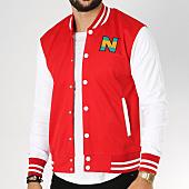 /achat-vestes/okawa-sport-teddy-new-team-2-rouge-blanc-153986.html