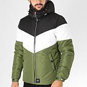 /achat-blousons/sixth-june-blouson-m3321sow-noir-blanc-vert-kaki-153978.html