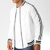 /achat-vestes/john-h-veste-zippee-avec-bandes-362-blanc-154124.html