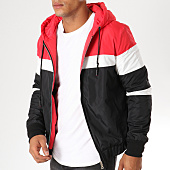 /achat-vestes/john-h-veste-zippee-670-rouge-noir-blanc-154130.html