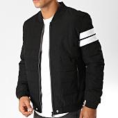 /achat-vestes/john-h-veste-zippee-bandes-brodees-908-rouge-noir-blanc-154180.html
