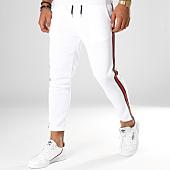 /achat-pantalons-carreaux/aarhon-pantalon-avec-bandes-18-242-blanc-rouge-vert-154454.html