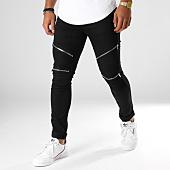 /achat-jeans/john-h-jean-slim-avec-zips-a316-noir-154226.html