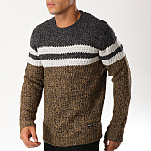 /achat-pulls/only-and-sons-pull-lazlo-gris-anthracite-chine-marron-chine-154388.html
