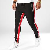 /achat-pantalons-joggings/uniplay-pantalon-jogging-avec-bandes-2532-noir-rouge-154393.html