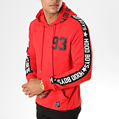 /achat-sweats-capuche/uniplay-sweat-capuche-avec-bandes-2555-rouge-154414.html