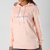 /achat-sweats-capuche/calvin-klein-sweat-capuche-femme-monogram-box-8559-rose-154460.html