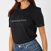 /achat-t-shirts/calvin-klein-tee-shirt-femme-satin-monogram-8608-noir-154463.html