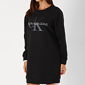 /achat-robes/calvin-klein-robe-sweat-femme-monogram-9536-noir-154465.html