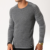 /achat-pulls/paname-brothers-pull-105-gris-anthracite-chine-154520.html