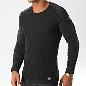 /achat-pulls/paname-brothers-pull-105-noir-chine-154556.html