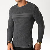 /achat-pulls/paname-brothers-pull-107-gris-anthracite-chine-154562.html