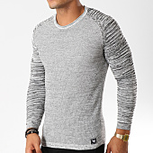 /achat-pulls/paname-brothers-pull-105-gris-noir-chine-154567.html