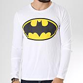 /achat-t-shirts-manches-longues/batman-tee-shirt-manches-longues-classic-logo-blanc-154756.html