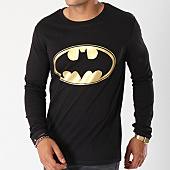 /achat-t-shirts-manches-longues/batman-tee-shirt-manches-longues-gold-logo-noir-154758.html