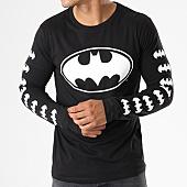 /achat-t-shirts-manches-longues/batman-tee-shirt-manches-longues-logos-noir-154762.html