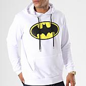 /achat-sweats-capuche/batman-sweat-capuche-classic-logo-blanc-154804.html