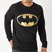 /achat-sweats-col-rond-crewneck/batman-sweat-crewneck-gold-logo-noir-154809.html